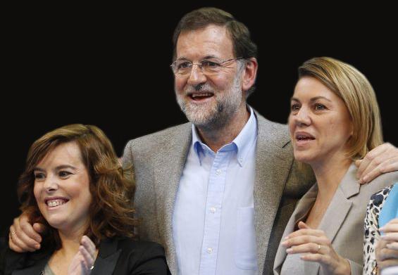 Soraya versus Cospedal o el futuro del PP.