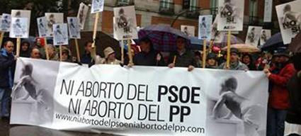 La ley del aborto del PP