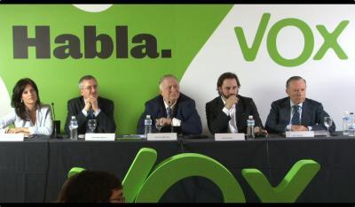JUGANDO EN LA TRASTIENDA DE VOX